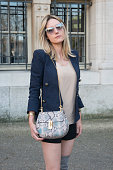 Lisa Bilunov wears all Chloe at the Chloe show on day 6 of Paris Collections Women on March 08 2015 in Paris France
