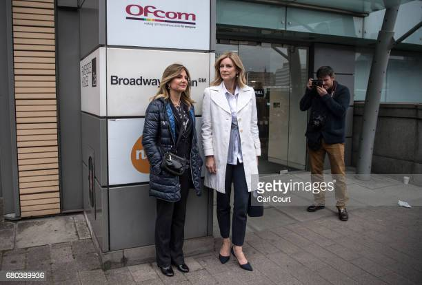 Lisa Bloom the US lawyer representing victims of sexual harassment at Fox News and Doctor Wendy Walsh whose complaint of sexual harassment prompted...