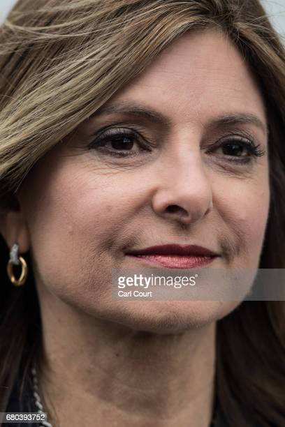 Lisa Bloom the US lawyer representing victims of sexual harassment at Fox News arrives to present a verbal submission to Ofcom claiming that the...