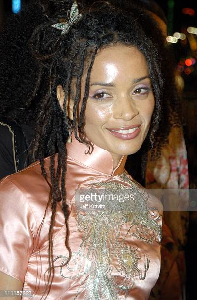 Lisa Bonet during Dreamworks Pictures 'Biker Boyz' at Manns Chinese Theater in Hollywood CA United States