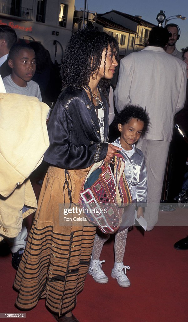 Lisa Bonet_daughter during 'The Aristicats' Video Release - April 18, 1996 at Mann Village Theater in Westwood, California, United States.