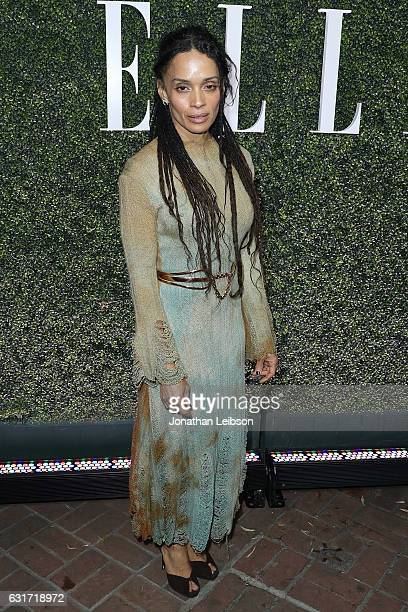 Lisa Bonnet attends the ELLE's Annual Women In Television Celebration 2017 Red Carpet at Chateau Marmont on January 14 2017 in Los Angeles California