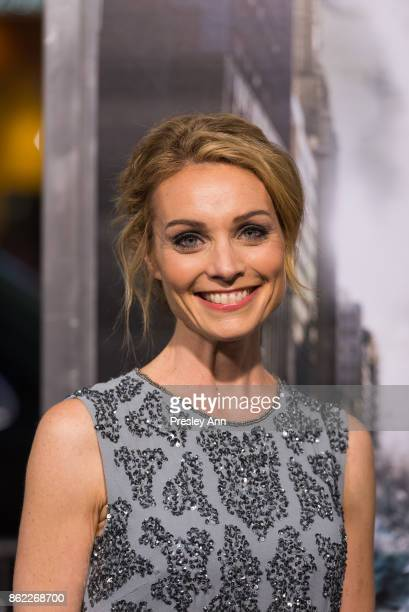 Lisa Brenner attends Premiere Of Warner Bros Pictures' 'Geostorm' Arrivals at TCL Chinese Theatre on October 16 2017 in Hollywood California