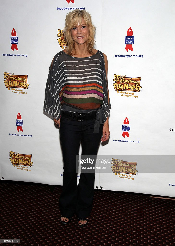 Lisa Brescia attends the 25th annual Broadway Flea Market at The Bernard B. Jacobs Theatre on September 25, 2011 in New York City.