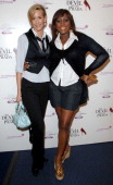 Lisa Butcher and Mica Paris during 'The Devil Wears Prada' Charity Gala Screening Inside Arrivals at Odeon West End in London Great Britain