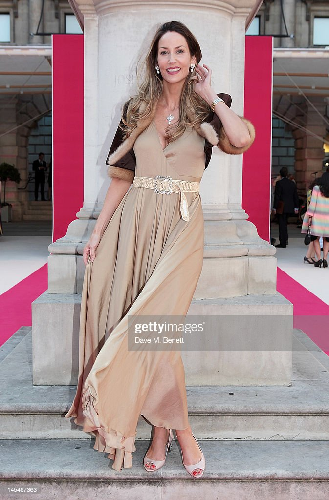 Lisa Butcher arrives at the Royal Academy of Arts Summer Exhibition Preview Party at Royal Academy of Arts on May 30, 2012 in London, England.