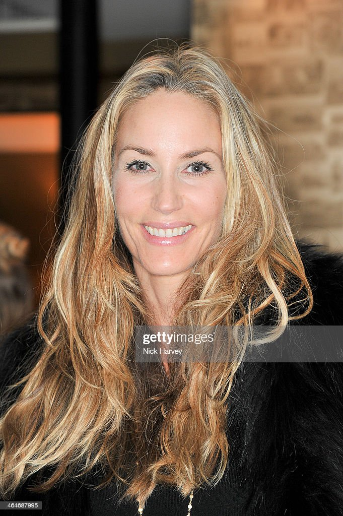 Lisa Butcher attends the Madderson London Spring/Summer 2014 womenswear collection launch party at Beaufort House on January 23, 2014 in London, England.