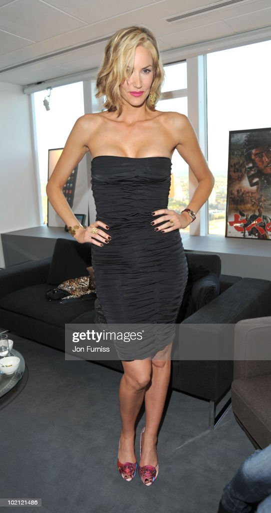 Lisa Butcher attends the Samsung Galaxy S launch on June 15, 2010 in London, England.
