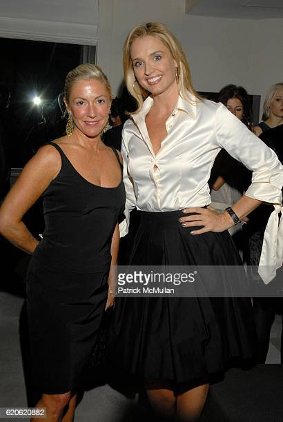 Lisa Byther and Laurie Dhue attend Audree Putnam Celebrates the ReImagined Morgans Hotel on September 10 2008 in New York City
