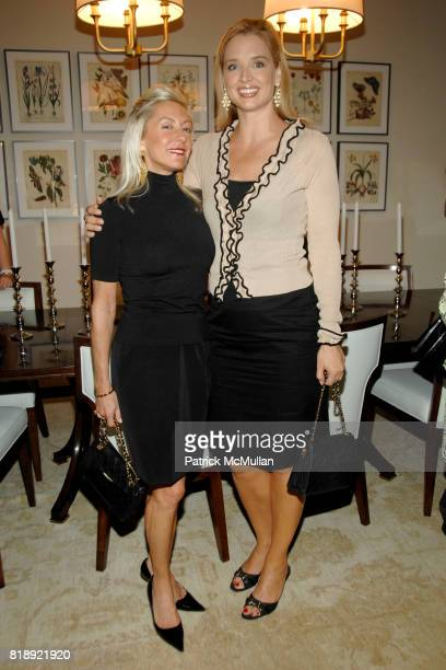 Lisa Bytner and Laurie Dhue attend LENOX HILL NEIGHBORHOOD HOUSE celebrates RICHARD MISHAAN'S Model Apartment at 180 East 93rd Street on May 24th...