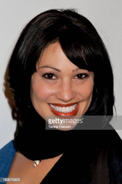 Lisa Catara attends the 'Not Another Celebrity Movie' Los Angeles premiere at Pacific Design Center on January 17 2013 in West Hollywood California