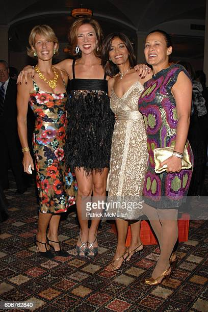 Lisa Cholnoky Heather Kerzner Prudence Inzerillo and Andrea Kerzner attend Henry Street Settlement 2007 Gala at 583 Park Ave on October 18 2007 in...