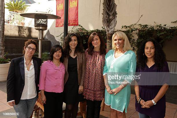 Lisa Cholodenko guest guest Jane Fleming President Women in Film Los Angeles Partner Amber Entertainment Karen McCullah Writer/Producer and Gina...