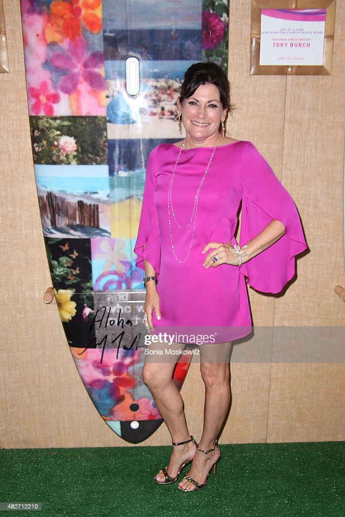 Lisa Cohn attends the Hamptons Paddle and Party for Pink-Sunset Cocktail Party Benefiting the Breast Cancer Research Foundation on August 1, 2015 in Bridgehampton, New York.