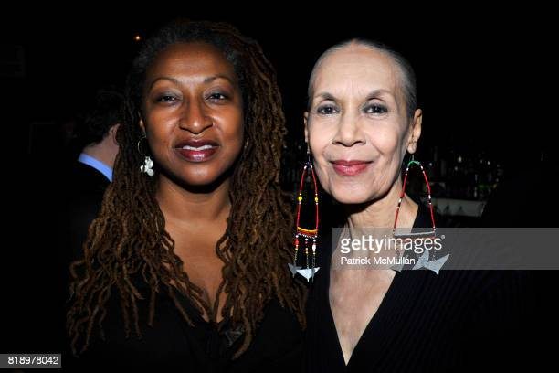 Lisa Cortes and Caren De Lavallade attend The East Harlem School presents 2010 Spring Poetry Slam at Highline Ballroom on May 4 2010 in New York City