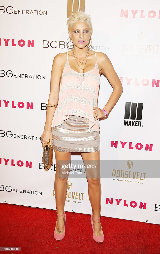 Lisa D'Amato arrives at the Nylon Magazine May Young Hollywood Issue Party held at Tropicana Bar at The Hollywood Rooselvelt Hotel on May 8, 2014 in Hollywood, California.