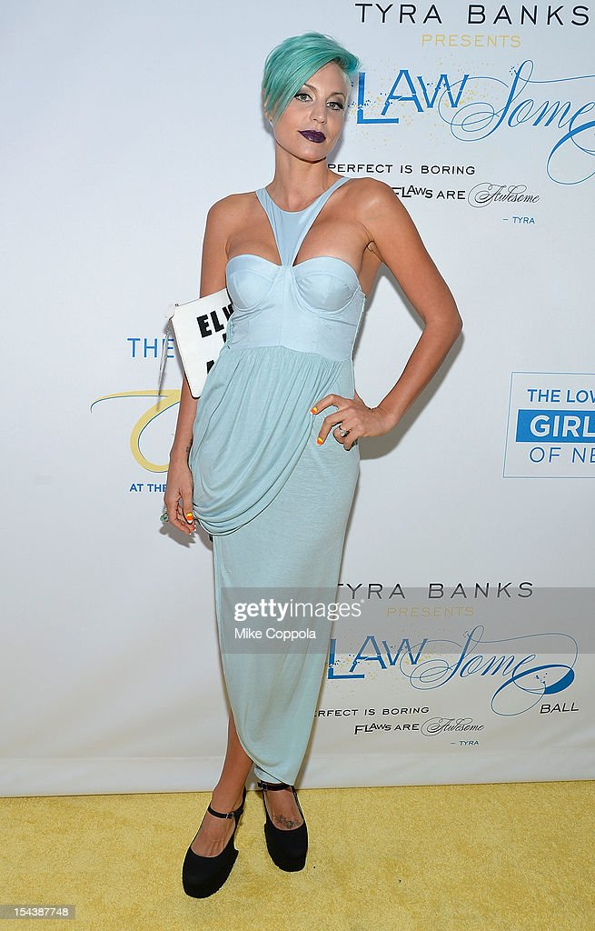 Lisa D'Amato attends The Flawsome Ball For The Tyra Banks TZONE at Capitale on October 18, 2012 in New York City.
