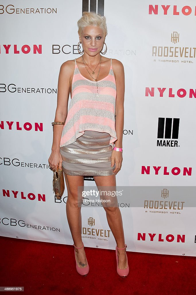 Lisa D'Amato attends the Nylon Magazine May young Hollywood issue party at Tropicana Bar at The Hollywood Rooselvelt Hotel on May 8, 2014 in Hollywood, California.