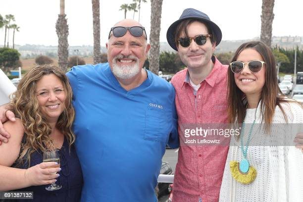 Lisa D'Ambrosio Doctor Frank David Collins and Sarah Collins attend the DoctorFrankcom Memorial Day Yacht Cruise on May 29 2017 in Marina del Rey...