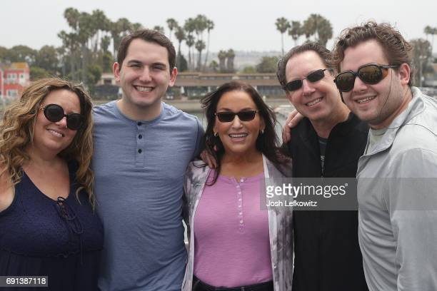 Lisa D'Ambrosio Jared Jacobs Khyla Jacobs Benjamin Jacobs MD and Zachary Jacobs are seen at the DoctorFrankcom Memorial Day Yacht Cruise on May 29...