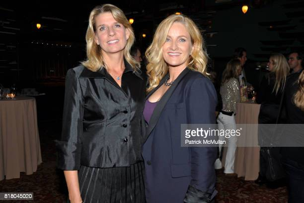 Lisa Dawson and Alex Witt attend After Party for the Premiere of JACK GOES BOATING at New York Yacht Club on September 16 2010 in New York City