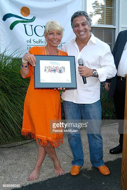 Lisa de Kooning and Dr Gerald Curatola attend UNC'S Celebrating The Creative Spirit at East Hampton on September 1 2007