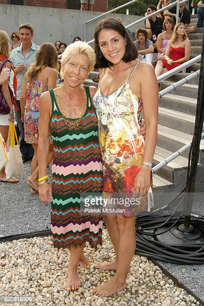 Lisa de Kooning and Esther Hernandez attend Watermill Concert 2008 The Last Song of Summer Rufus Wainwright with his special guest Jessye Norman at...
