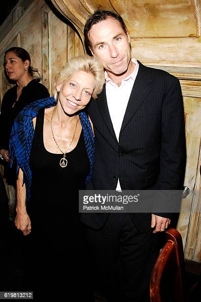 Lisa de Kooning and Joel Fitzpatrick attend MIKE MYERS hosts ONLY MAKE BELIEVE Benefit at The Box on October 27 2008 in New York City