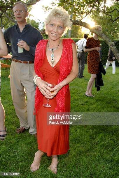 Lisa De Kooning attends the Longhouse Reserve's Summer Gala at 133 Hands Creek Road on July 18 2009 in East Hampton NY