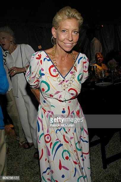 Lisa de Kooning attends VOOM Zoo The14th Annual WATERMILL CENTER Summer Benefit at The Watermill Center on July 28 2007 in Watermill NY