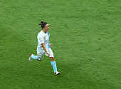 Lisa De Vanna of Melbourne City celebrates after scoring the winning goal against the Brisbane Roar in a penalty shoot out during the WLeague semi...