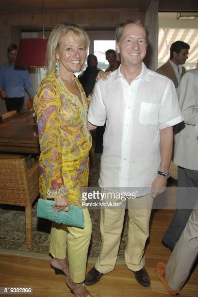 Lisa Dennison and David Bohnett attend LACMA Trustee DAVID BOHNETT and TOM GREGORY Host the Kick Off Celebrations for the LYNDA AND STEWART RESNICK...