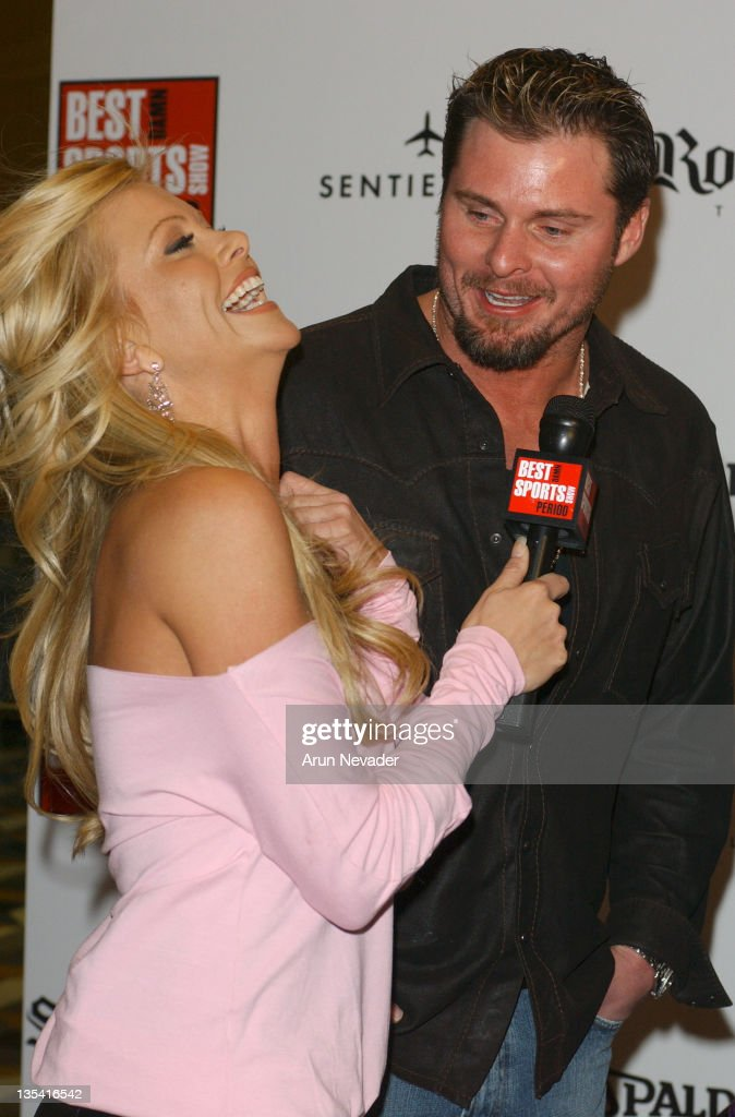 Lisa Dergan and Jason Giambi during Best Damn AllStar Party Period presented by Ron Simms at 9000 Restaurant and Bar in West Hollywood California...