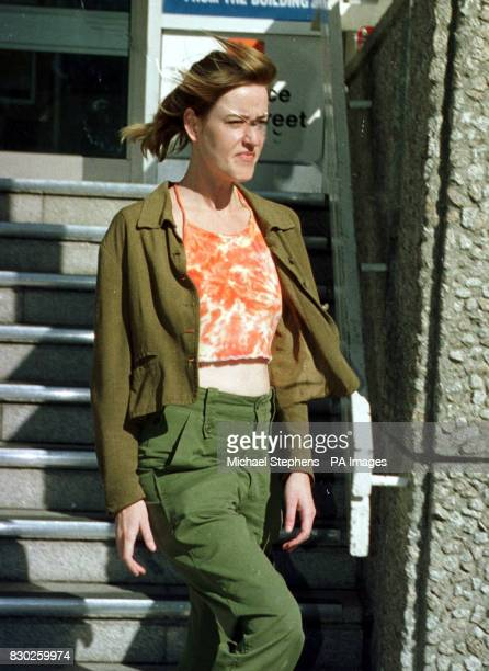Lisa Duffy leaves Brighton Magistrates Court after being sentenced to a years probation for failing to comply with noise abatement notices Duffy...