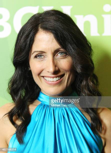 Lisa Edelstein arrives at the 2014 Television Critics Association Summer Press Tour NBCUniversal Day 2 held at The Beverly Hilton Hotel on July 14...