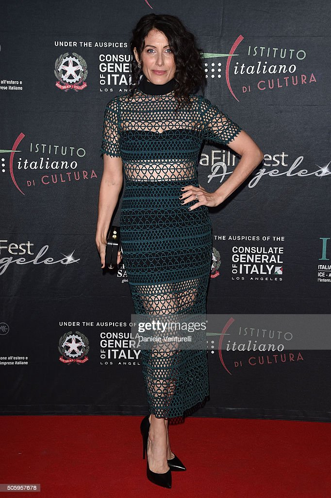 Lisa Edelstein attends Cocktail Party Celebrating 1th Taormina Film Fest Los Angeles 2016 at Italian Cultural Institute Of Los Angeles on January 21...