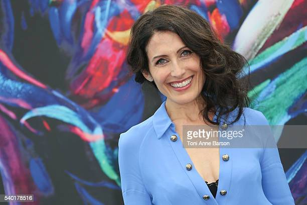 Lisa Edelstein attends 'Girl Friends' Guide to Divorce' Photocall as part of the 56th Monte Carlo Tv Festival at the Grimaldi Forum on June 14 2016...