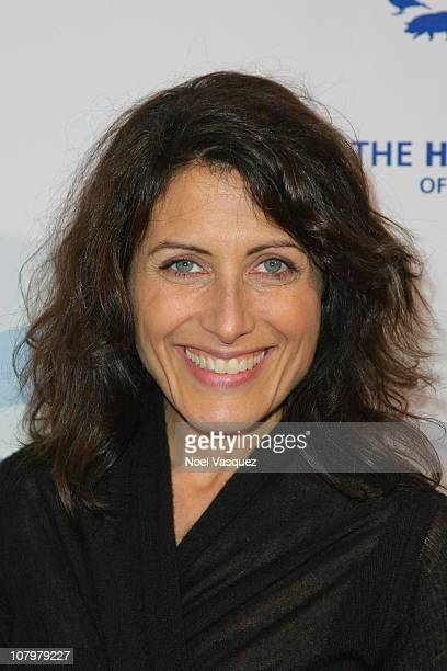 Lisa Edelstein attends HSUS's 'Chefs For Seals' at the Montage on January 10 2011 in Beverly Hills California