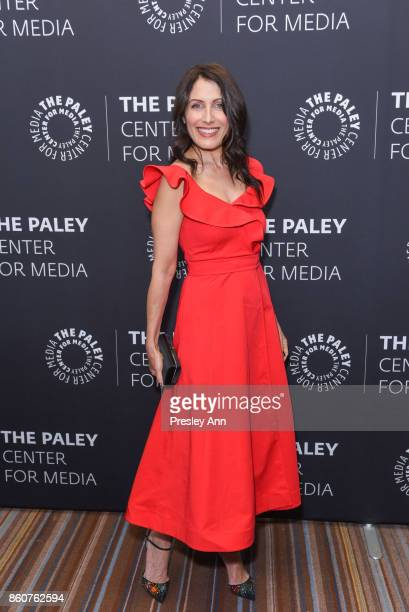 Lisa Edelstein attends Paley Honors in Hollywood A Gala Celebrating Women in Television at Regent Beverly Wilshire Hotel on October 12 2017 in...