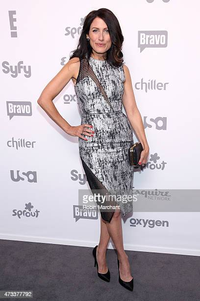 Lisa Edelstein attends the 2015 NBCUniversal Cable Entertainment Upfront at The Jacob K Javits Convention Center on May 14 2015 in New York City