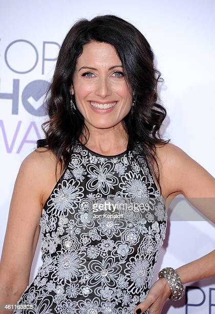 Lisa Edelstein attends the 41st Annual People's Choice Awards at Nokia Theatre LA Live on January 7 2015 in Los Angeles California