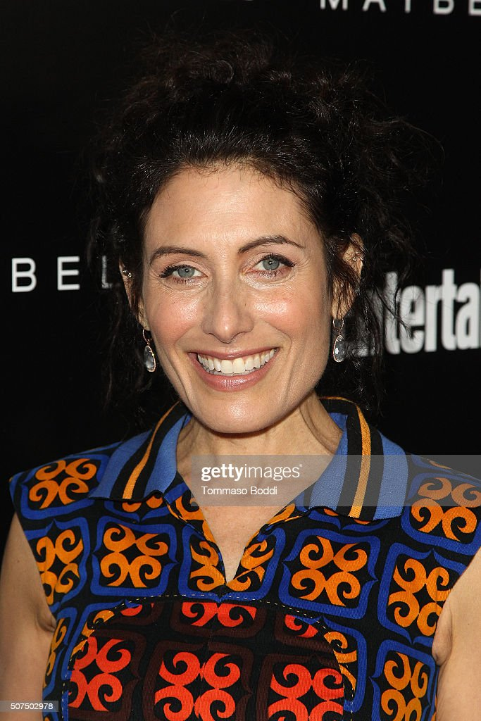 Lisa Edelstein attends the Entertainment Weekly's Celebration Honoring The 2016 SAG Awards Nominees held at Chateau Marmont on January 29 2016 in Los...
