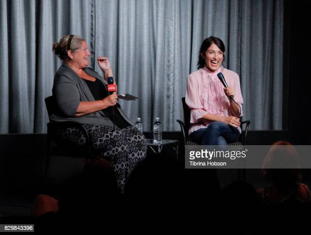 Lisa Edelstein attends the SAGAFTRA Foundation Conversations Screening of 'Girlfriends Guide To Divorce' at SAGAFTRA Foundation Screening Room on...