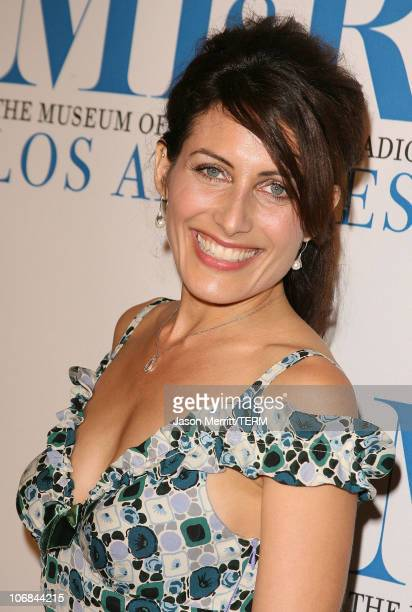 Lisa Edelstein during The Museum of Television Radio Honors Peter Chernin and John Wells with the Annual Los Angeles Gala at Beverly Hilton Hotel in...