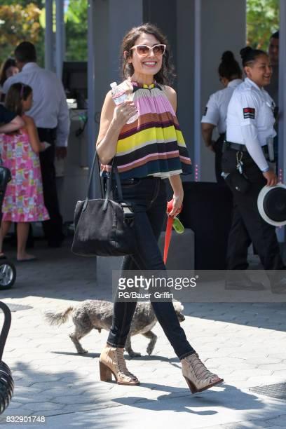 Lisa Edelstein is seen on August 16 2017 in Los Angeles California