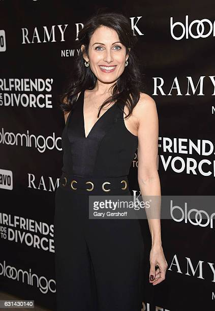 Lisa Edelstein of 'Girlfriend's Guide to Divorce' visits Bloomingdale's 59th Street Store on January 10 2017 in New York City