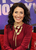 Lisa Edelstein visits the Young Hollywood Studio on February 10 2015 in Los Angeles California
