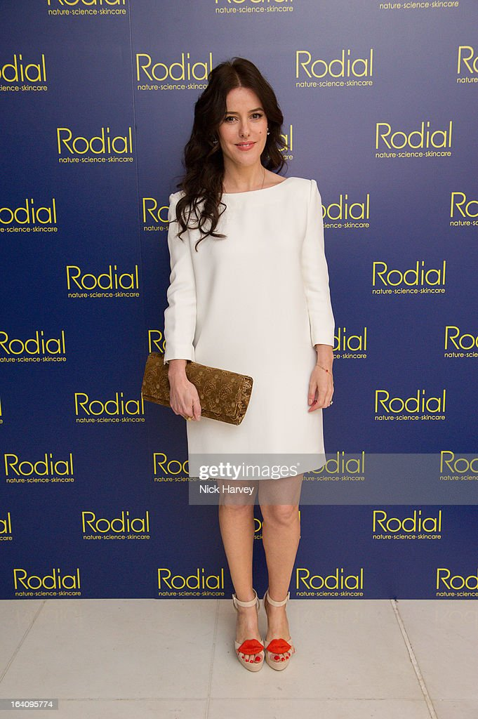 Lisa Eldridge attends the Rodial Beautiful Awards at St Martin's Lane Hotel on March 19, 2013 in London, England.