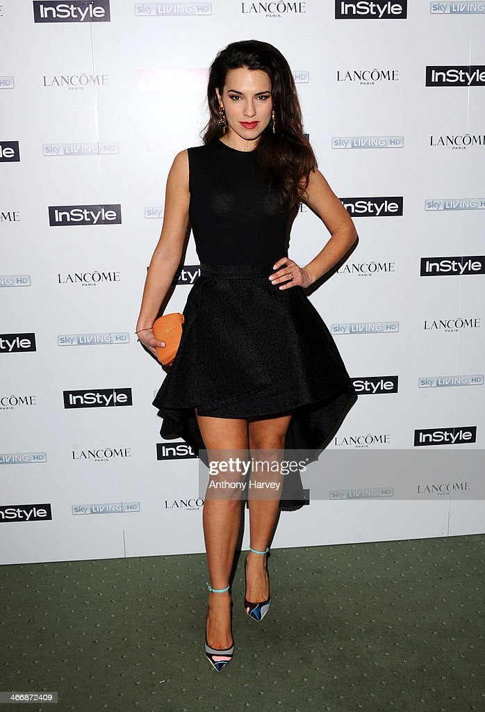 Lisa Eldrige attends InStyle magazine's The Best of British Talent pre-BAFTA party at Dartmouth House on February 4, 2014 in London, England.
