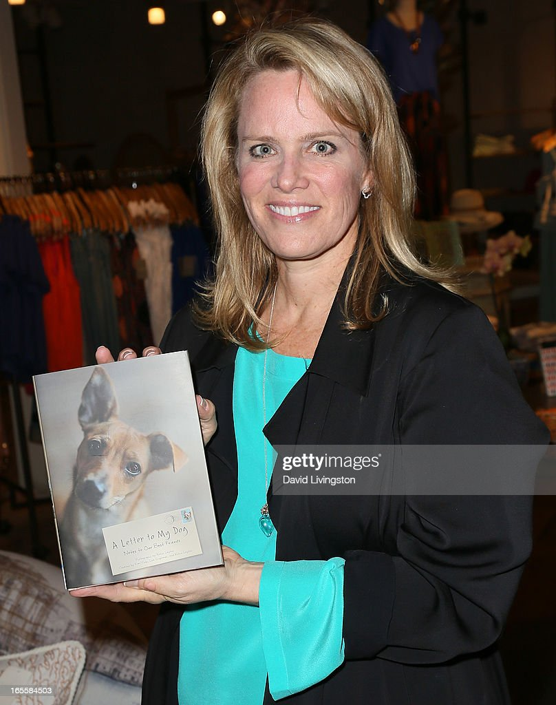 Lisa Erspamer attends a cocktail party and book signing for 'A Letter to My Dog: Notes to Our Best Friends' at Anthropologie on April 4, 2013 in Beverly Hills, California.